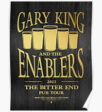 Gary King and the Enablers Poster