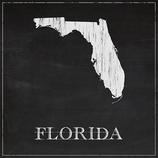 Florida - Chalk by FinlayMcNevin