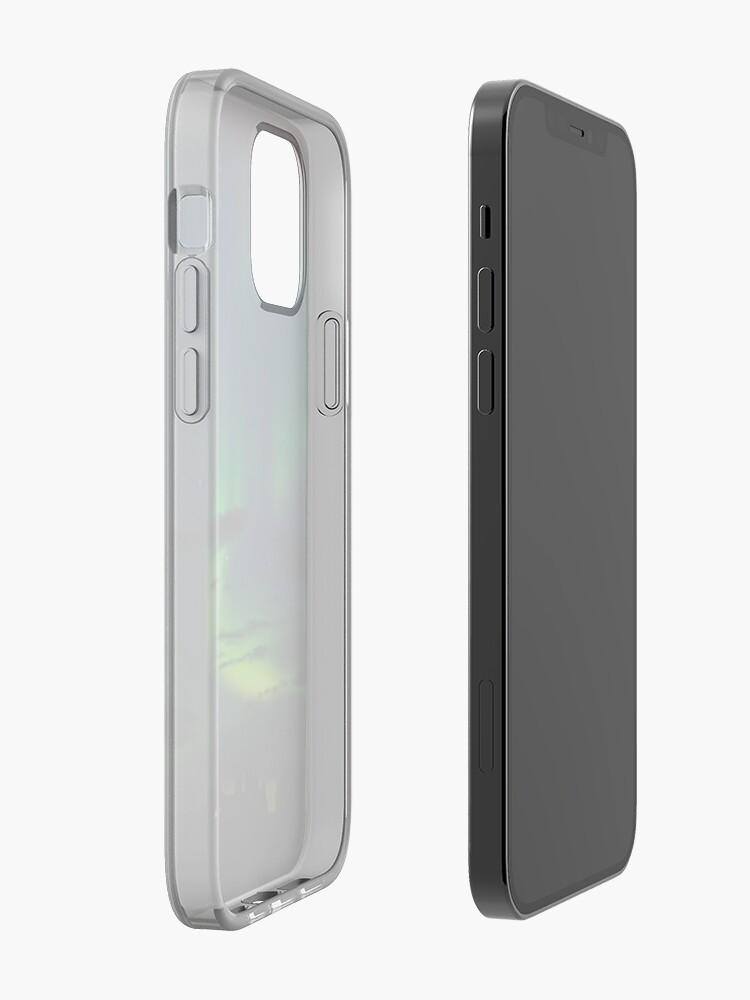 Alternate view of Edmonton Aurora Borealis iPhone Case & Cover