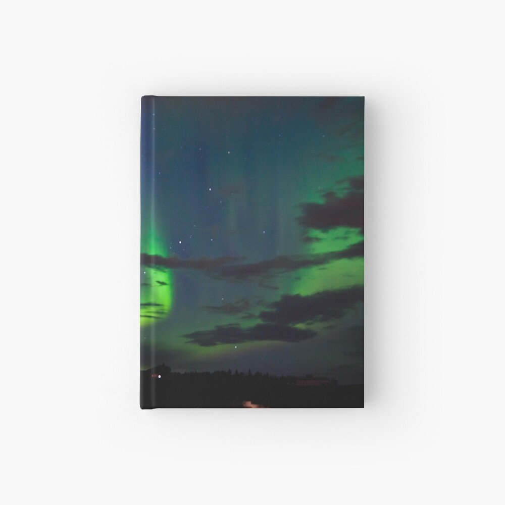 Edmonton Aurora Borealis Hardcover Journal
