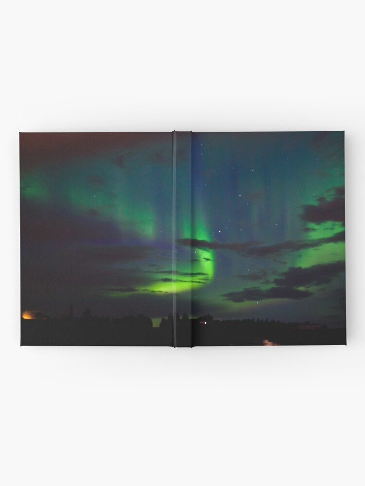 Alternate view of Edmonton Aurora Borealis Hardcover Journal