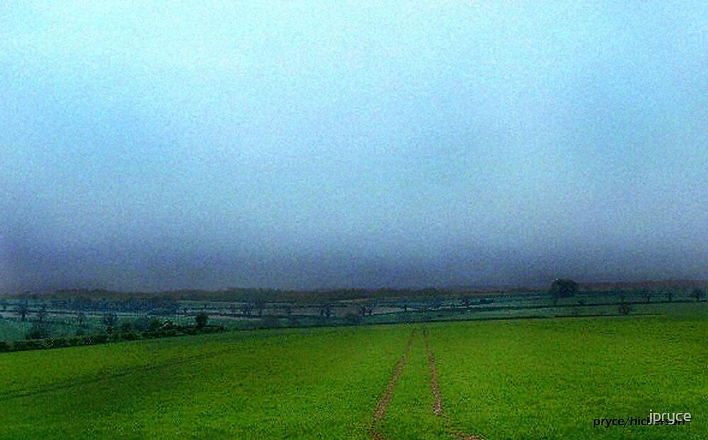 Stormy English Countryside by jpryce