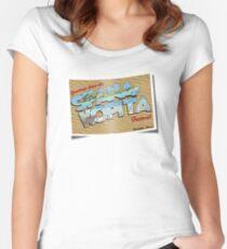 Spanakopita! Women's Fitted Scoop T-Shirt