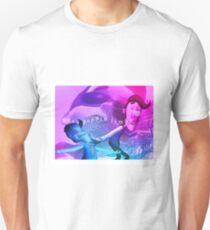 wuss poppin jimbo v a p o r w a v e T-Shirt