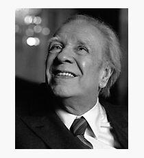 Jorge Luis Borges Photographic Print
