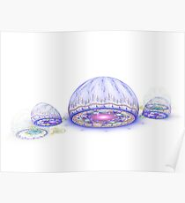 Domes of Light Poster