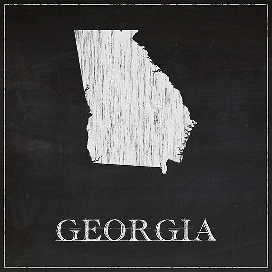 Georgia - Chalk by FinlayMcNevin
