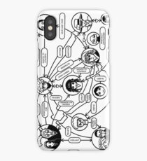 Zoldyck Family Flow Chart iPhone Case/Skin