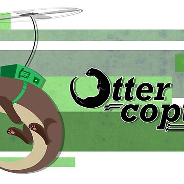 Ottercopter Banner (green) by CaliberSH
