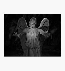 Dont Blink Photographic Print