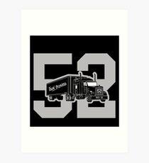 "Oakland ""Mack Truck"" Art Print"