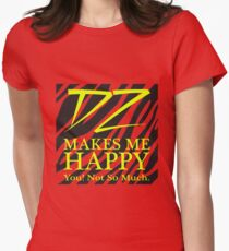Dolph Ziggler Makes Me Happy! Womens Fitted T-Shirt