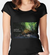 Let's Go Exploring Women's Fitted Scoop T-Shirt