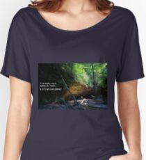 Let's Go Exploring Women's Relaxed Fit T-Shirt