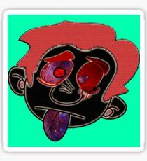 Trippy Cartoon Sticker
