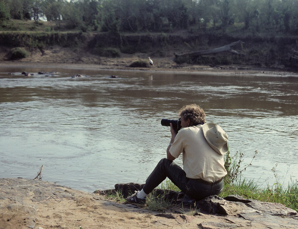 The photographed photographer - AFRICA RE-VISITED by bertspix