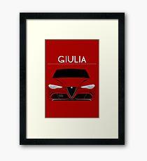 Red Italian Stallion Framed Print