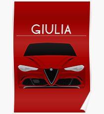 Red Italian Stallion Poster