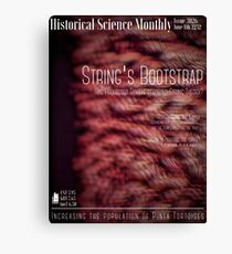 Historical Science Monthly Edition 3026 Canvas Print