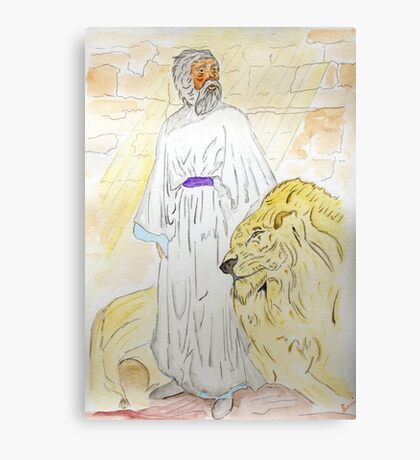 Daniel and the Lions Canvas Print