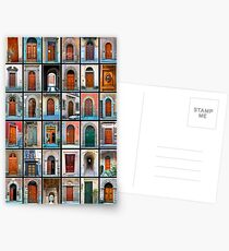 Doors of Florence and Siena Postcards