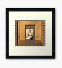 Florence Lady with Goggles Framed Print