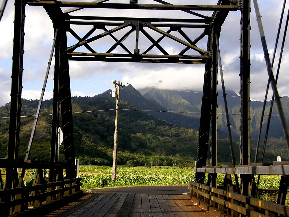 bridge to Hanalei by Aimerz