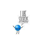 I like stickers by Raphaël Gabbay