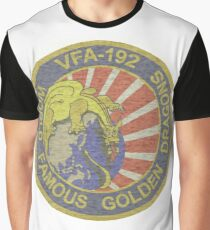 VFA-192 Golden Dragons Rising Sun (faded) Graphic T-Shirt