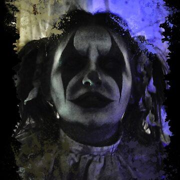 Crazy Clown Girl by StrykingFX