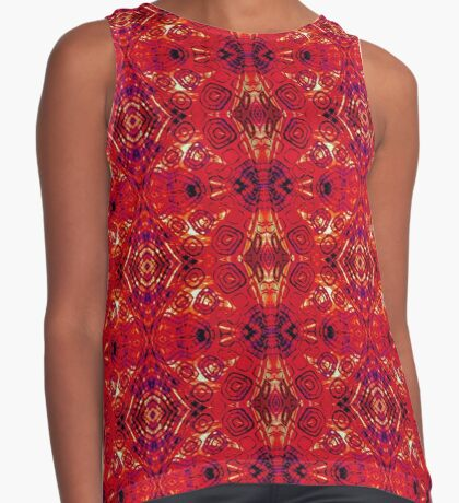 zen - I Am Rooted Contrast Tank