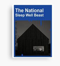The National - Sleep Well Beast Canvas Print