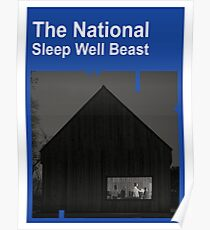 The National - Sleep Well Beast Poster