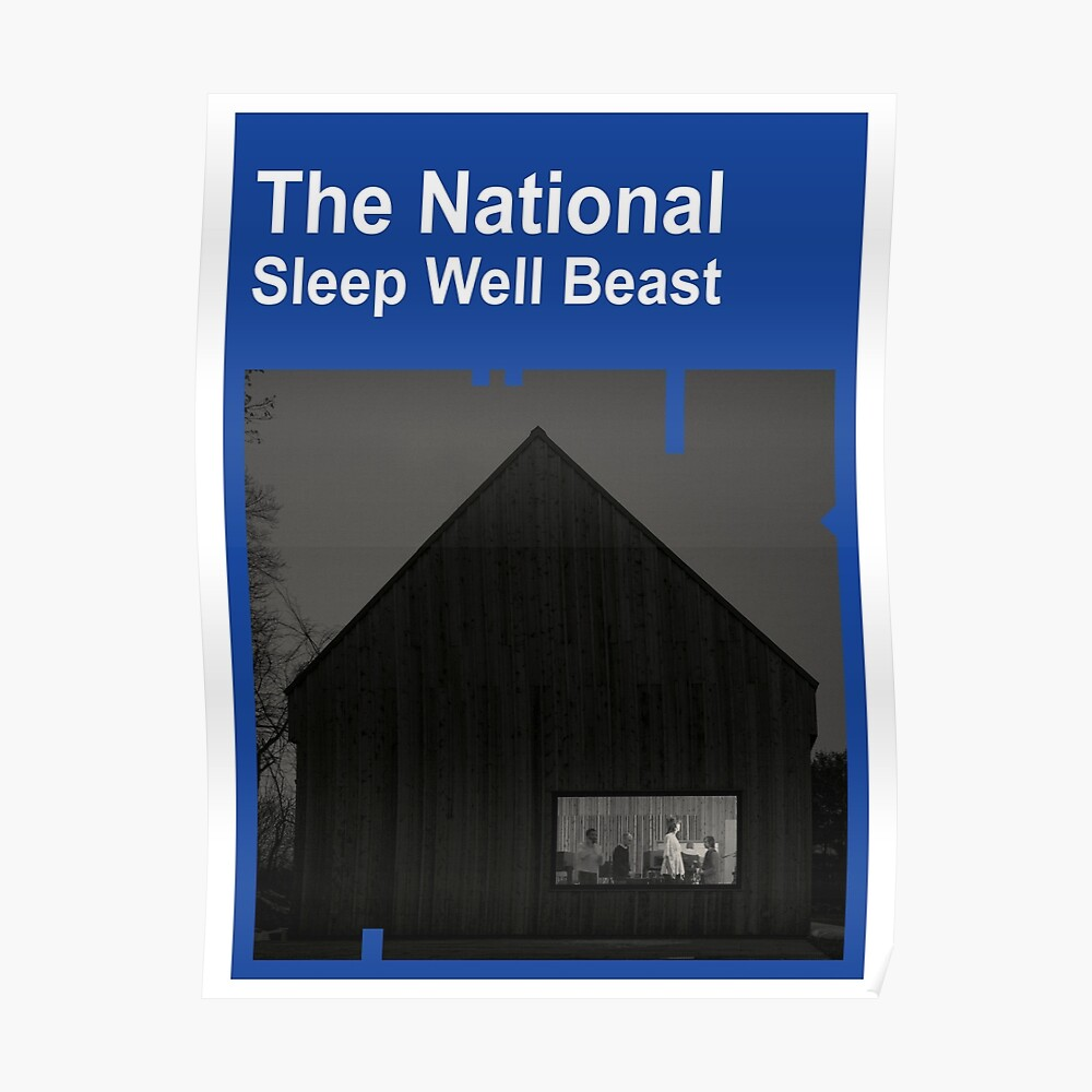 The national sleep well beast poster