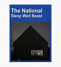 The National - Sleep Well Beast Photographic Print
