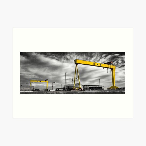 Belfast Shipyard 2 Art Print