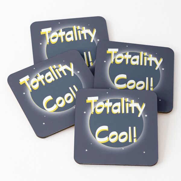 Eclipse Totality Cool! Coasters (Set of 4)