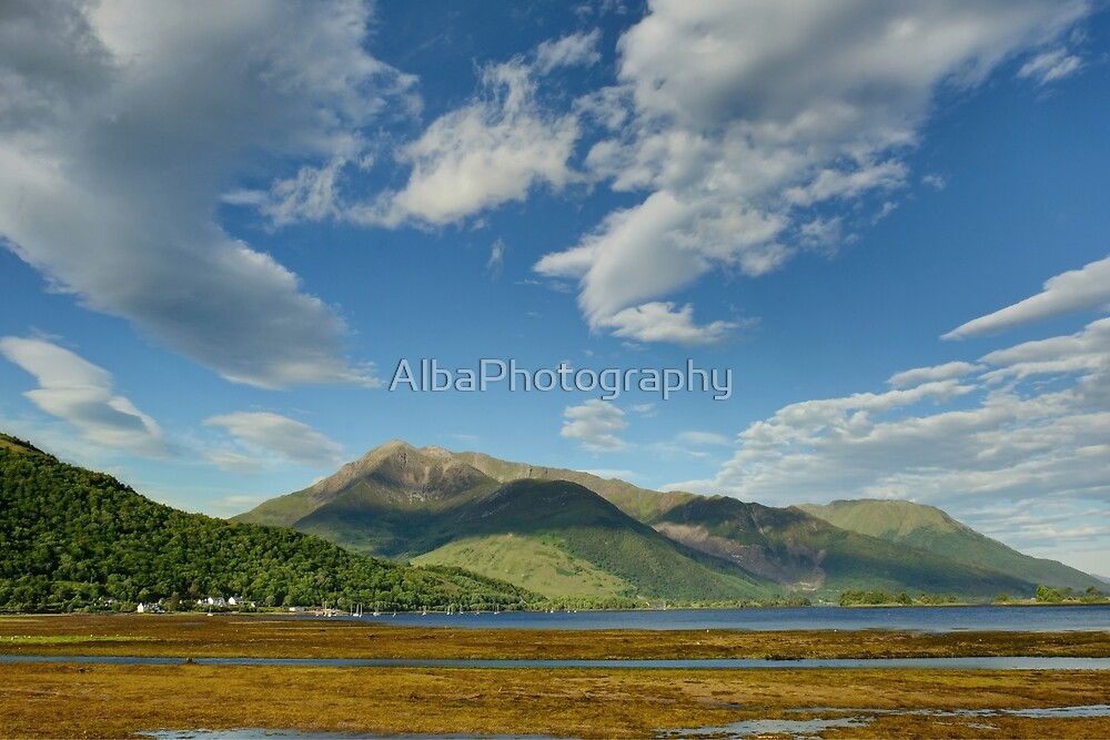 Beinn a Bheithir, Ballachulish, Scotland. by AlbaPhotography