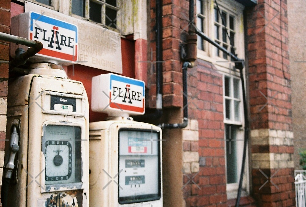Vintage Petrol Pumps in Denbigh by lepoflex