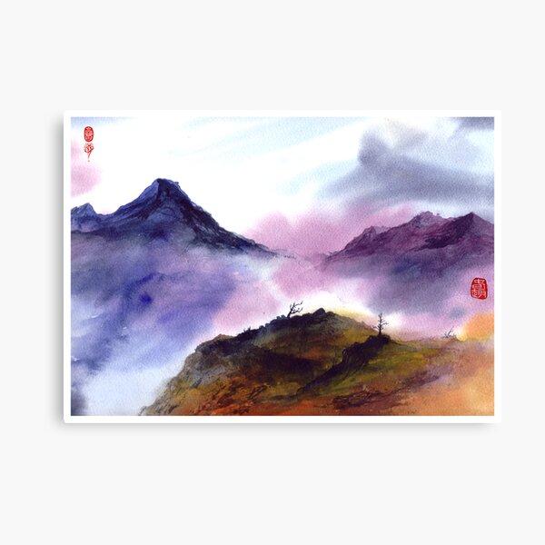Mountain Tao Canvas Print