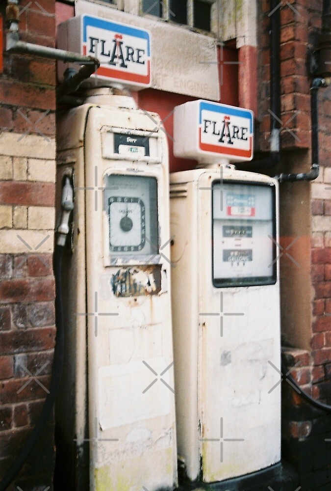 Vintage Petrol Pumps in Denbigh by lepoflex