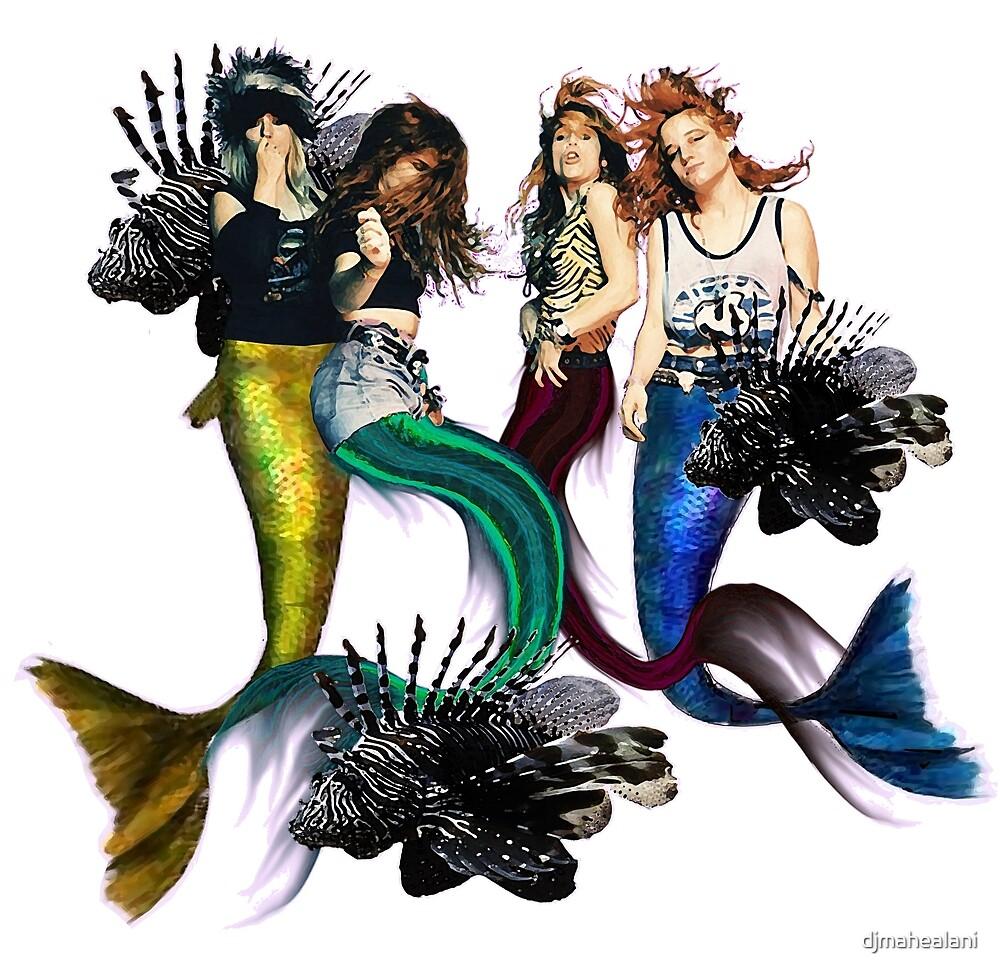 mermaids are heavy by djmahealani