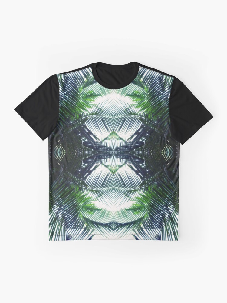 Alternate view of artistic fern Graphic T-Shirt