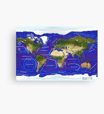 Ocean Currents Canvas Print