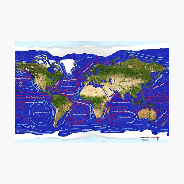 Ocean Currents Photographic Print