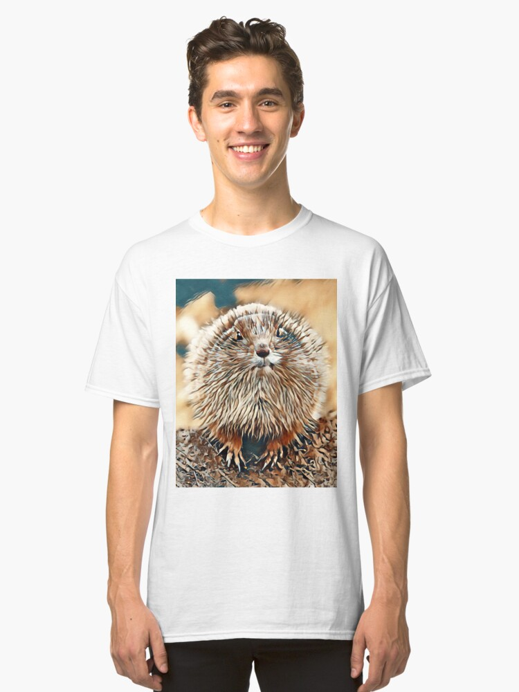 Funny gopher Classic T-Shirt Front