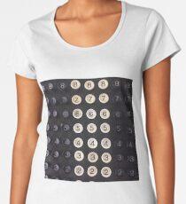 Vintage Cash Register with a Twist Women's Premium T-Shirt
