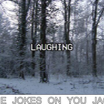 """Lofi VHS Streetwear Woods """"Laugh"""" Design by WickedWays"""