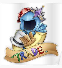 Trade. Logo Poster