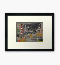 THE END - UNION STATION CHICAGO Framed Print